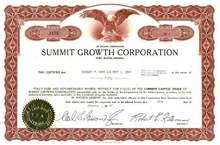 Summit Growth Corporation - 1960's