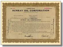 Sunray Oil Corporation 1934 ( Now Sun Company )