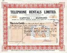 Telephone Rentals Limited 1947