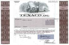 Texaco, Inc. ( Pre Chevron Merger )