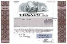 Texaco, Inc. ( Pre Chevron Merger )