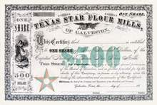 Texas Star Flour Mills of Galveston 18__