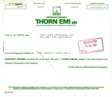 Thorn EMI plc - 1983 - Famous Music Company