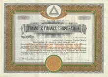 Triangle Finance Corporation