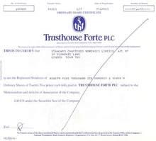 Trusthouse Forte plc