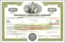 University Computing Company $1,000 Bond