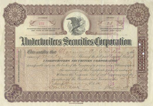 Securities Subsidiary