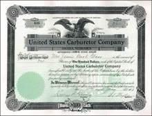 United States Carburetor Company 1918 - Omaha, Nebraska