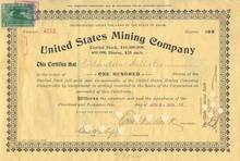 United States Mining Company 1890's