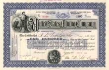 United States Mining Company 1899