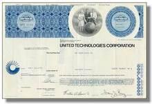 United Technologies Corporation Stock