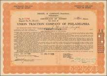 Union Traction Company of Philadelphia 1928