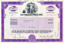 UV Industries, Inc. (previously known as U.S. Smelting, Refining, & Mining Co)