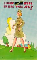 W.A.C. Postcard