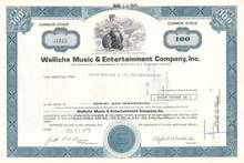 Wallichs Music & Entertainment Company, Inc. - Famous Hollywood Landmark Wallich's Music City