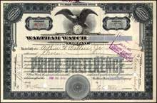 Waltham Watch Company 1926