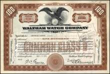 Waltham Watch Company