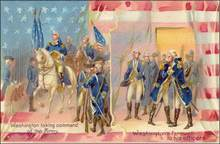 Washington Farewell to his Officers Post Card 1910
