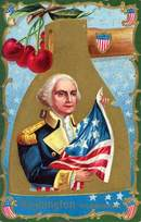 Washington His Patriotism Postcard