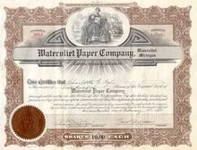 Watervliet Paper Company Stock 1940's
