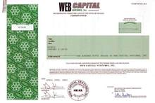 Web Capital Ventures, Inc.