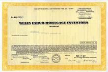 Wells Fargo Mortgage Investors