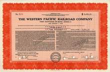Western Pacific Railroad Company - 1939