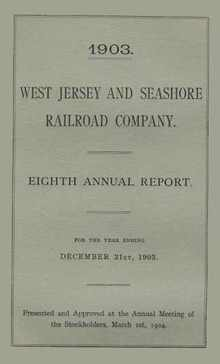 West Jersey and Seahshore Railroad Company