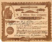 Hilton Shoe Company 1906 - Brooklyn, New York
