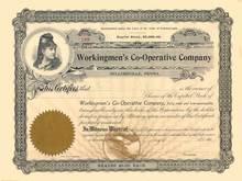 Workingmen's Co-Operative Company 1903