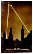 WWl Zepplin Photo Postcard