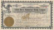 Yellow Horse Manhattan Mining Company - 1907
