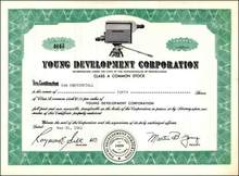 Young Development Corporation 1961 - Early Television Camera Vignette