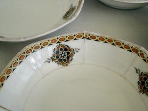 Set of Four Weimar Germany Berry Bowls