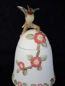 Lefton Hummingbird Trinket Box