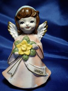 Chalkware Birthday Angel