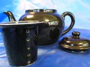 Black Teapot Made in Japan