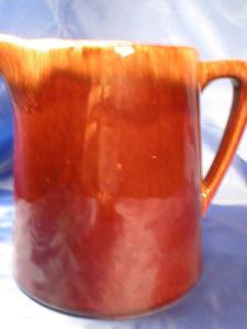 Nice Brown Drip/Mirror Brown Milk Pitcher