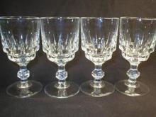 Nice Set of Four Stemmed  Cordials