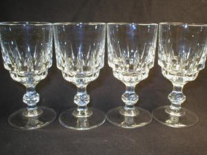 Nice Set of Four Stemmed  Cordials