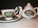 Luray Virginia Mini Tea Set