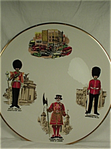 1975 Piccadilly Circus Plate * Royal Falcon Ware