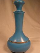Nice Blue Avon Perfume or Lotion Bottle