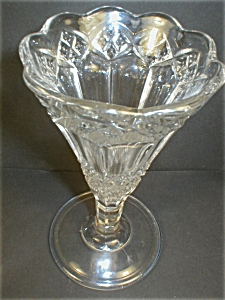 Imperial EAPG Three-in-One Pattern Trumpet  Vase