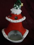 House of Lloyds Santa Tealite Candle Holder