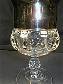 Kings Crown Gold Stained Goblet or Stem