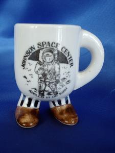 Johnson Space Center Footed Mini Mug -  Enesco