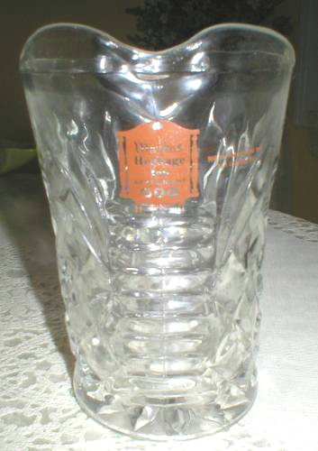 Anchor Hocking Pineapple Restaurant Syrup Pitcher