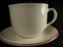 Pfaltzgraff Large Cappuccino Cup and Saucer