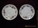 Two Sango China Saucers